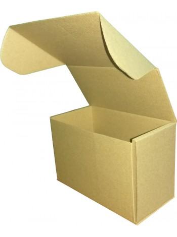 Коробка бурая, самосборная (160 х 85 х 110)