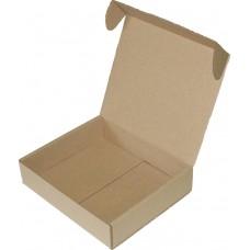 Коробка (185 x 160 x 40), бурая