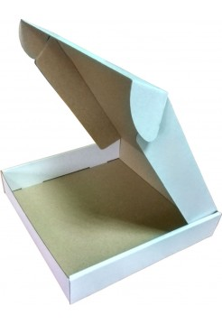 Коробка (260 х 260 х 50), белая