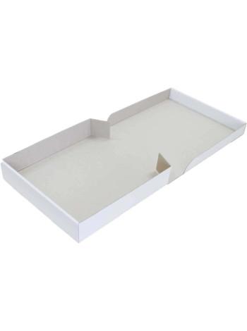 Коробка (300 х 300 х 60), белая, для пряников