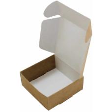 Коробка (070 х 70 х 30), крафт, подарочная