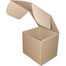 Коробка (080 x 80 x 80), бурая