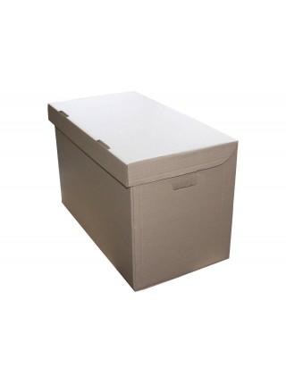 Коробка архивная (535 х 295 х 345), бурая