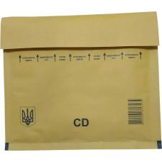 Конверт бандерольный (Украина, 180 мм. х 160 мм., CD)