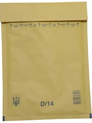 Конверт бандерольный (Украина, 180 мм. х 265 мм., D/14)