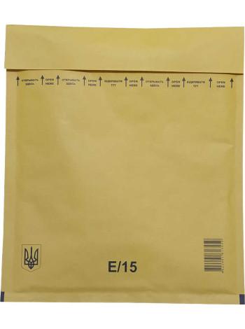Конверт бандерольный (Украина, 220 мм. х 265 мм., E/15)