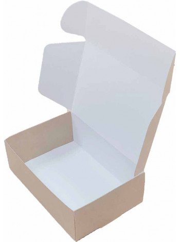 коробка картонная самосборная (150 x 100 x 50) из однослойного картона