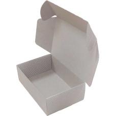 Коробка (150 x 100 x 50), бурая, 2-х слойная, подарочная