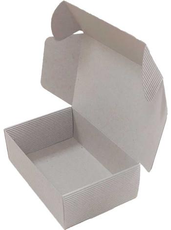 бурая коробка картонная самосборная (150 x 100 x 50) из двухслойного картона