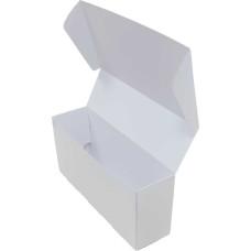 Коробка (220 х 60 х 100), белая, подарочная