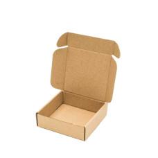 Коробка (120 x 120 x 35), бурая