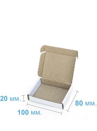 Коробка (100 х 80 х 20), белая