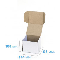 Коробка (114 х 95 х 100), белая