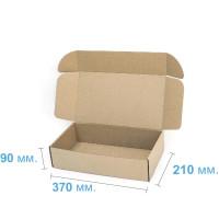 Коробка (370 х 210 х 90), бурая