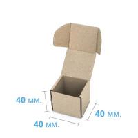 Коробка (040 х 40 х 40), бурая