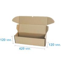 Коробка (420 х 120 х 120), бурая