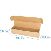 Коробка (500 x 100 x 100), бурая