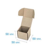 Коробка (050 х 50 х 50), бурая