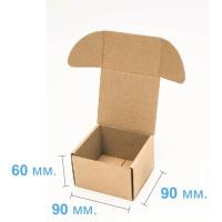 Коробка (090 х 90 х 60), бурая