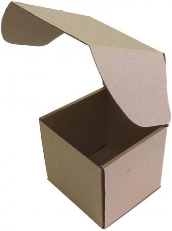 Коробка (120 х 120 х 120), бурая