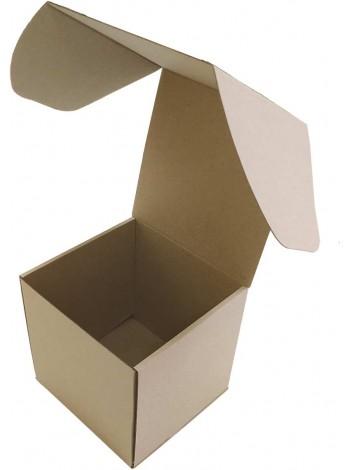Коробка (200 х 200 х 200), бурая
