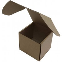 Коробка (180 х 180 х 180), бурая