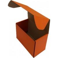 Коробка (160 х 85 х 110), оранжевая