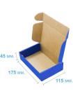 Коробка (175 х 115 х 45), синяя