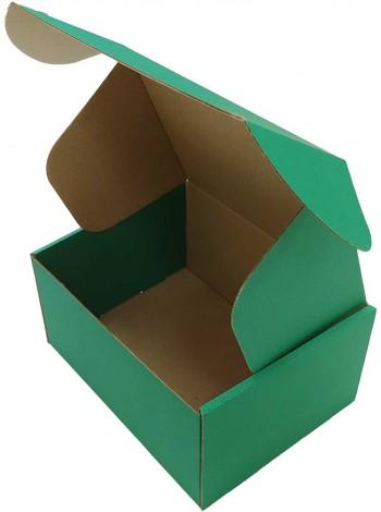 Коробка (190 х 150 х 100), зеленая