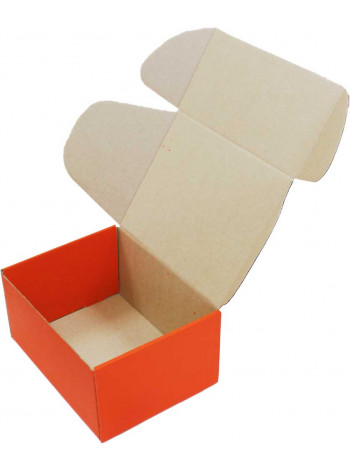 Коробка (190 х 150 х 100), оранжевая