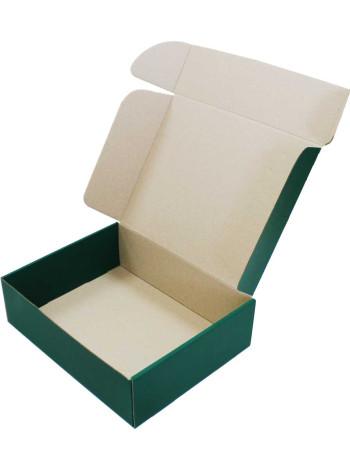 Коробка (300 х 240 х 90), зеленая