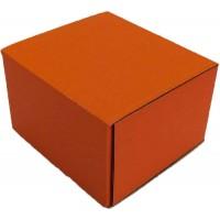 Коробка (090 х 90 х 60), оранжевая