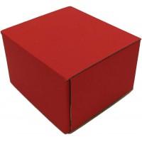 Коробка (090 х 90 х 60), красная