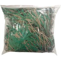 Резаный гофрокартон, зеленый, 1000 г.
