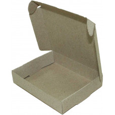 Коробка (100 x 80 x 20), бурая, 2-х слойная, подарочная