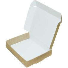 Коробка (100 x 80 x 20), крафт, подарочная