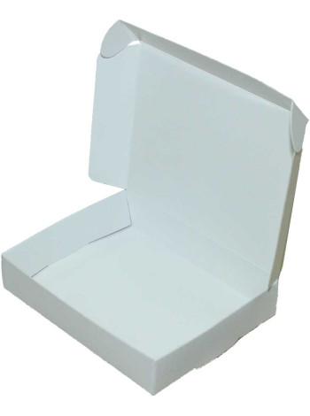 Коробка (100 x 80 x 20), белая, подарочная