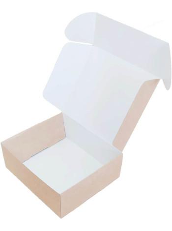 Коробка (160 x 140 x 60), крафт, подарочная