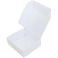 Коробка (160 x 140 x 60), белая, подарочная