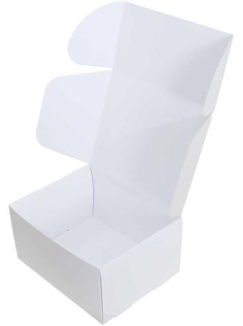 Коробка (190 x 150 x 100), белая, подарочная