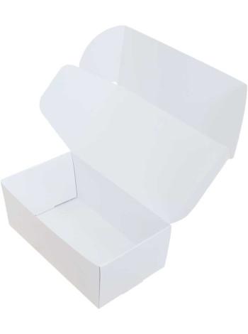Коробка (210 х 120 х 80), белая, подарочная