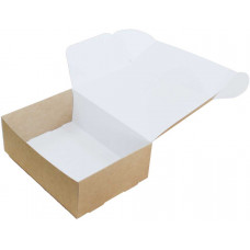 Коробка (220 х 160 х 80), крафт, подарочная