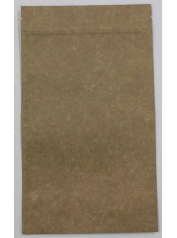 Дой-пак пакет крафт 130*200 дно (32+32) с застежкой Zip