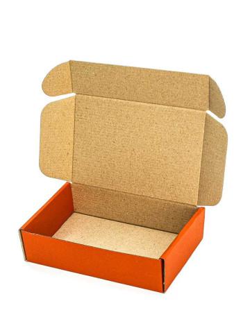 Коробка (175 х 115 х 45), оранжевая