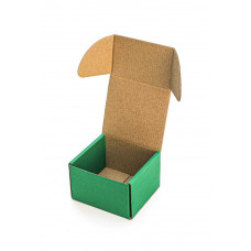 Коробка (090 х 90 х 60), зеленая