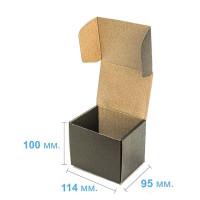 Коробка (114x95x100), черная