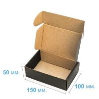 Коробка (150 х 100 х 50), черная