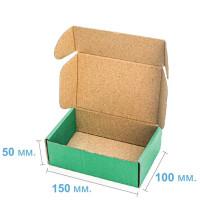 Коробка (150 х 100 х 50), зеленая