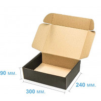 Коробка (300 х 240 х 90), черная