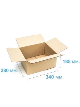 Коробка (340 х 280 х 185), бурая